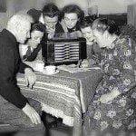 Listening to the radio
