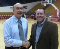 Dick Vitale with Walter Cornett of WildcatWorld.com