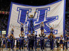 Kentucky Cheerleaders - photo by Tammie Brown | WildcatWorld.com