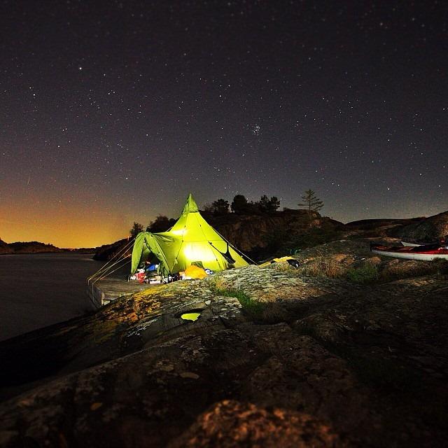 Winter Camping in a Varanger Camp