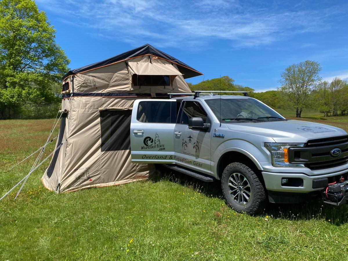 The Updated Wild Coast Sandpiper Roof Top Tent