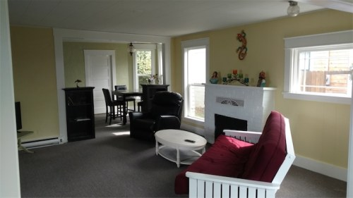 Seaview Cottage Living Room & Dining Room