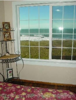 Nesika Beach Cottages Ocean View from Window