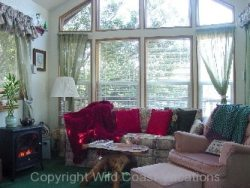 Butterflyland Cabin Living room