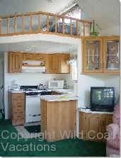 Butterflyland Cabin Kitchen