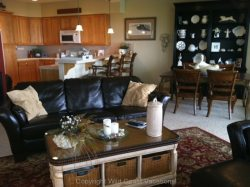 Sea House living room