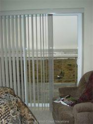 Sea House window view