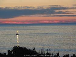 Sea House sunset ocean