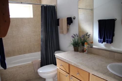 Don't Worry, Beach Happy Bathroom