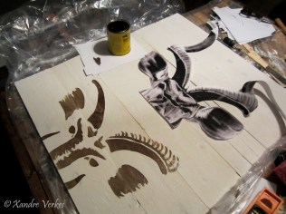 Xandre Verkes - Stained Kudu Art-3