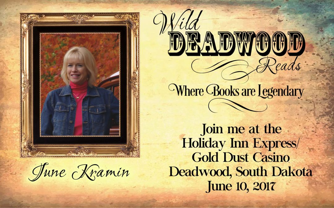 Meet our Authors countdown/ June Kramin