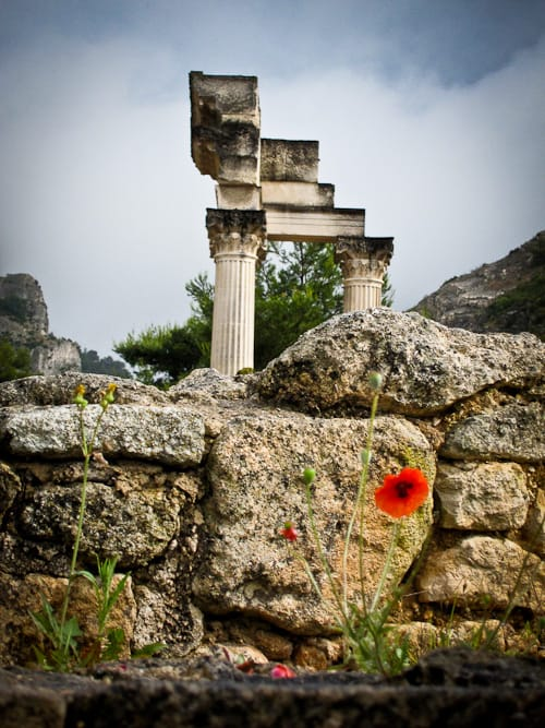 Glanum, Lost Hellenistic City Near St. Remy, Provence