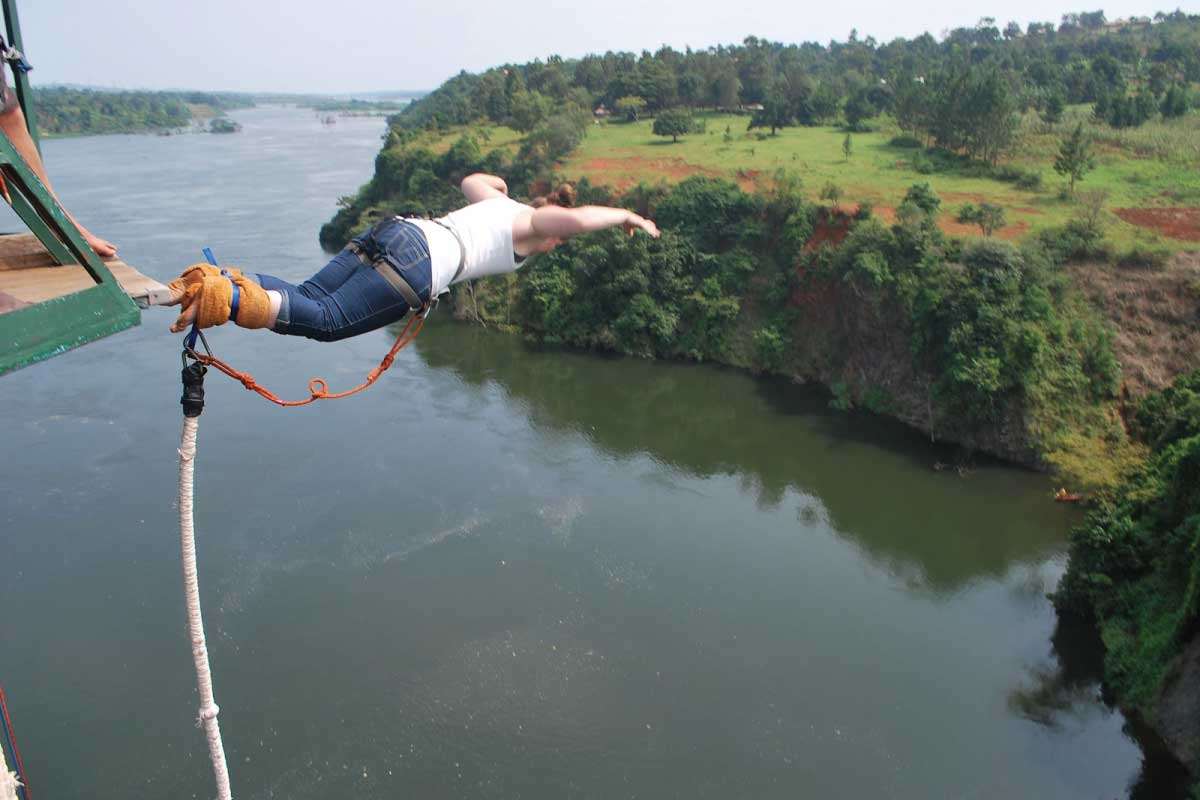 Bungee Junping - Jinja, The Adrenaline Capital of East Africa