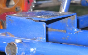 Cracked Motor Mount