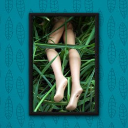 The Barbie Murders Body Dump Poster by Wilde Designs