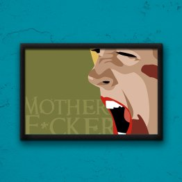 Mother F*cker Poster by Wilde Designs