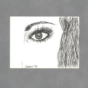 Clear Gaze Art Card by Wilde Designs