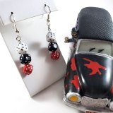 Gamer Gear Dice Earrings by Wilde Designs
