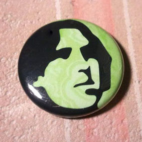 "Oscar Wilde 1"" Button"