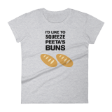 I'd Like to Squeeze Peeta's Buns tshirt by Wilde Designs