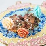 Pastel Kawaii Rose Rings