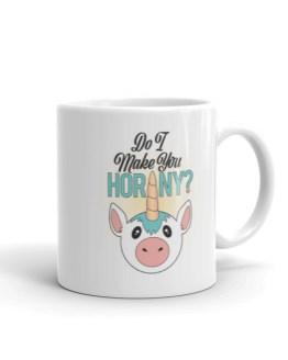 Horny Unicorn Mug by Wilde Designs