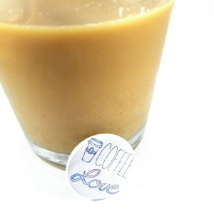 Coffee Love Button by Wilde Designs