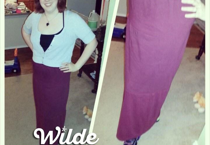 DIY T-Shirt Skirt by Wilde Designs