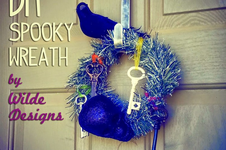DIY Spooky Wreath by Wilde Designs