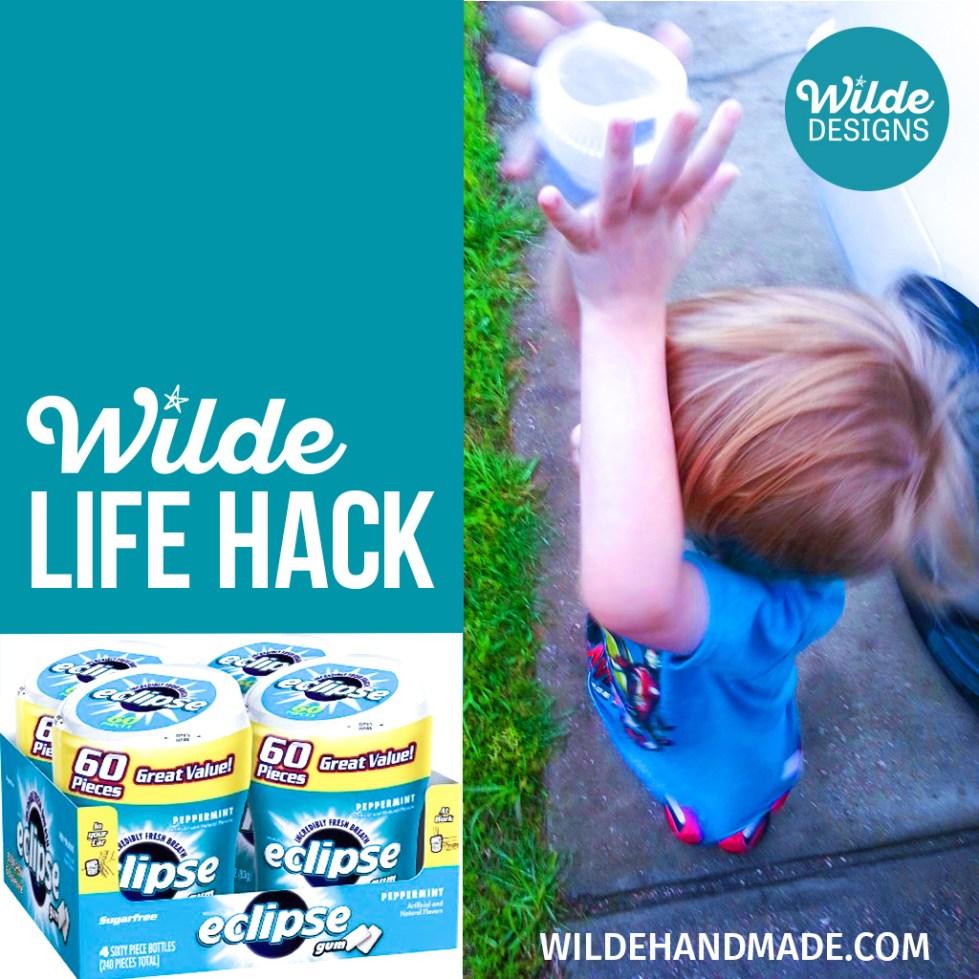 Wilde Life Hack: Reuse Gum Cups