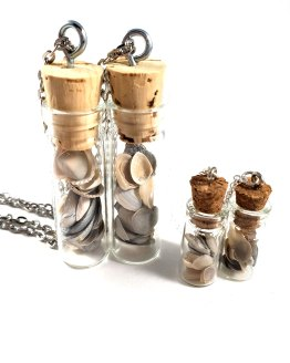 Mermaid Dreams Bottle Necklace by Wilde Designs