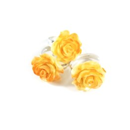 Paint the Sunrise Kawaii Rose Ring by Wilde Designs