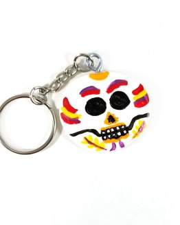 Day of the Dead Keychain by Wilde Designs
