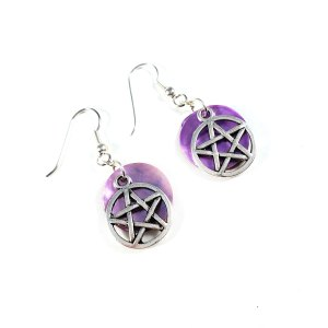 Pretty Pentagram Earrings by Wilde Designs