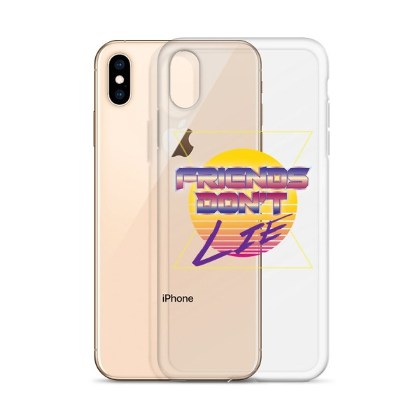 Friends Don't Lie iPhone Phone Case by Wilde Designs