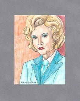 Elsa Mars Art Card by Wilde Designs