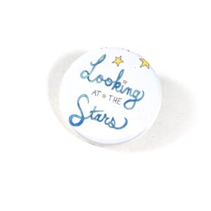 Looking at the Stars Button by Wilde Designs