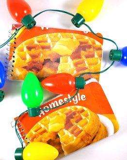 Eggo Waffle Memo Pad by Wilde Designs