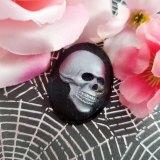 Death's Head Cameo Brooch by Wilde Designs