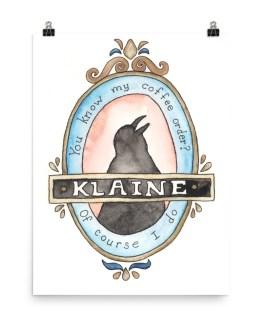 Klaine poster by Wilde Designs