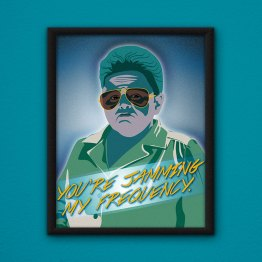 You're Jamming My Frequency Poster by Wilde Designs