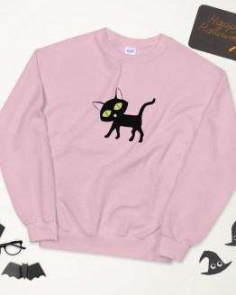Lucky Cat Sweatshirt by Wilde Designs