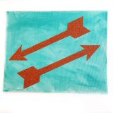 Take Flight Sparkling Arrow Canvases by Wilde Designs
