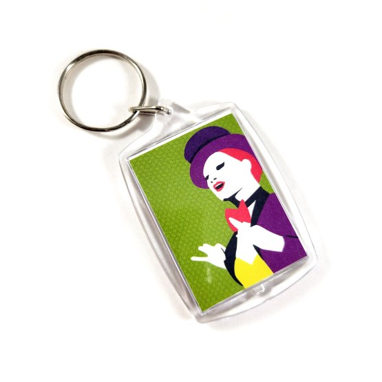 Columbia Double Sided Keychain by Wilde Designs