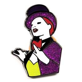 Columbia Enamel Pin by Wilde Designs