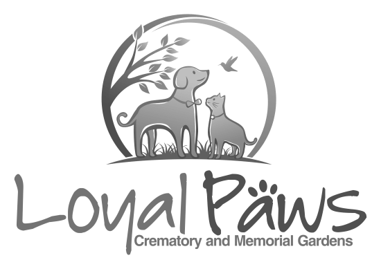 loyal paws cremation logo