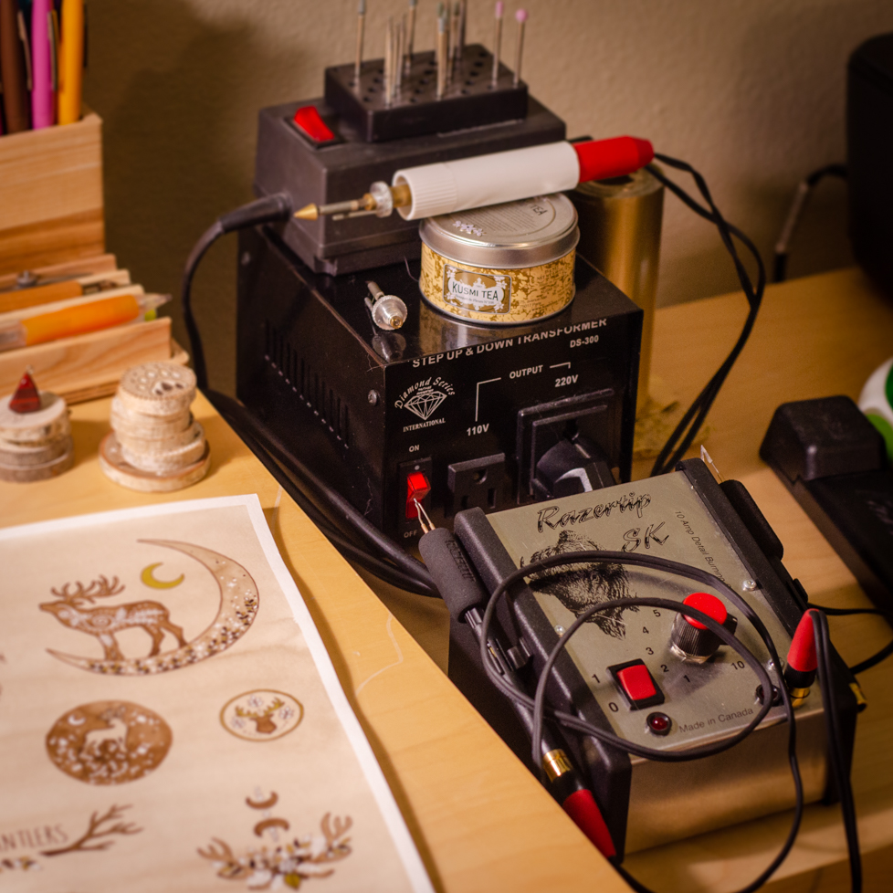 Wildera Atelier - Pyrography Tools