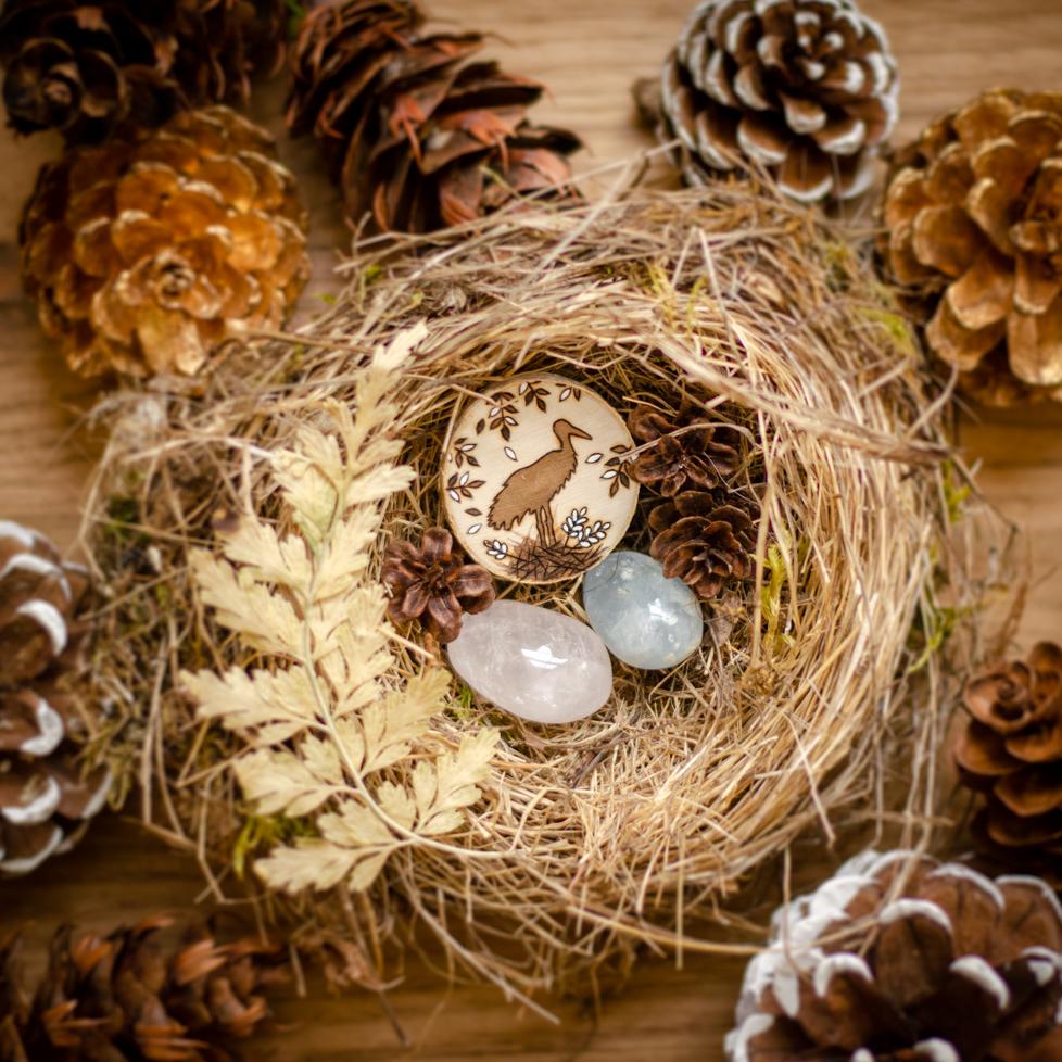 Wildera Lenormand - Stork & Nest
