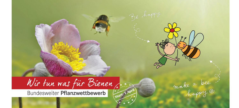 Deutschland summt | Bundesweiter Pflanzwettbewerb 2018: Wir tun was für Bienen
