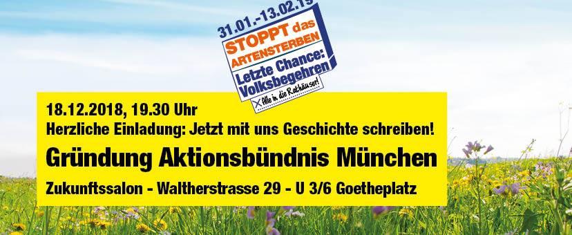 Gründung Aktionsbündnis München